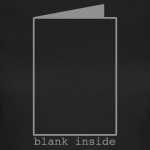 Blank Inside Grey T-Shirts - Women's T-Shirt