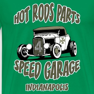 hot rods parts t-shirt - T-shirt Premium Homme