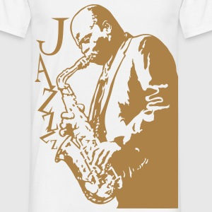 Sax player marron - T-shirt Homme