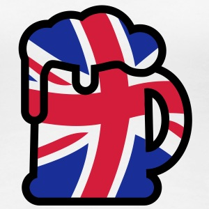 We are Brittish | Beer T-Shirts - Dame premium T-shirt