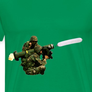 D.F.A. Designs - Javelin Balloon - Men's Premium T-Shirt