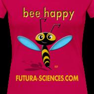 Motif ~ Bee Happy femme rose