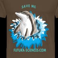 Motif ~ Save dauphin homme marron