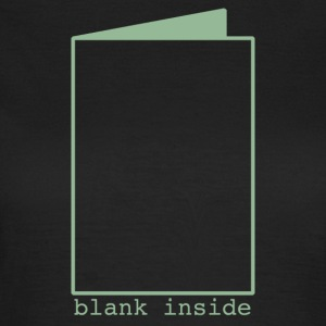 Blank Inside Green T-Shirts - Women's T-Shirt
