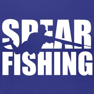 Spearfishing Cutout T-Shirts - Frauen Premium T-Shirt