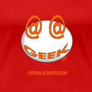 Motif ~ Geek femme rouge