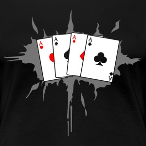 card T-Shirts - Women's Premium T-Shirt
