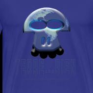 Motif ~ Terrien homme bleu ciel