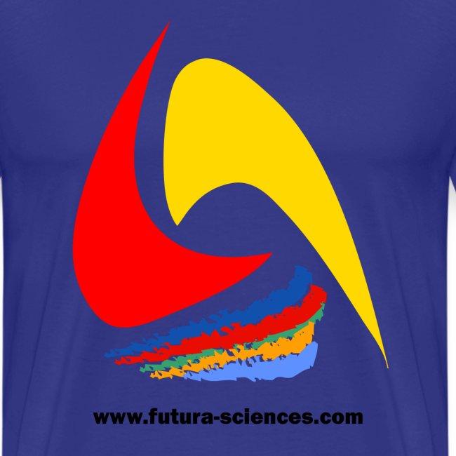 Futura-Sciences homme bleu royal