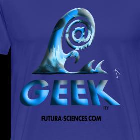 Motif ~ Geekwave homme bleu-bleu