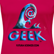 Motif ~ Geekwave femme rougerubis-bleu