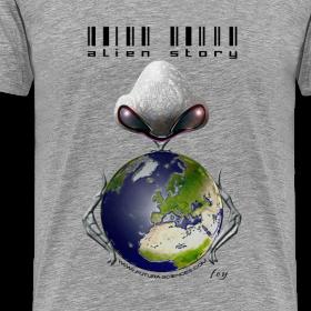 Motif ~ Alien story homme gris