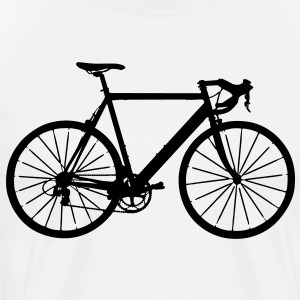 bike bicycle sport T-shirts - Mannen Premium T-shirt