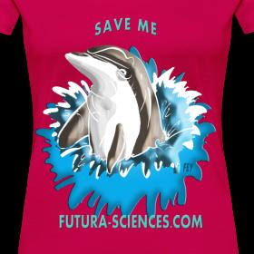 Motif ~ Save dauphin femme rubis