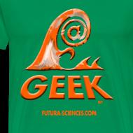 Motif ~ Geekwave homme vert bouteille-orange