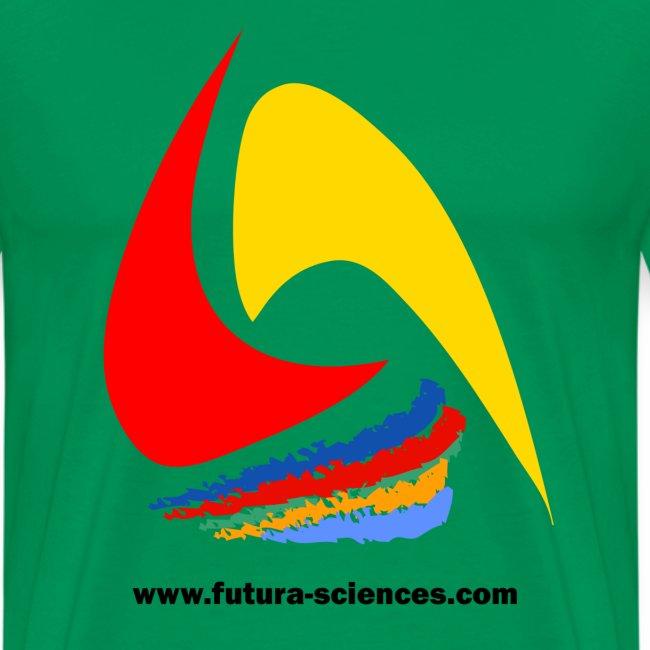 Futura-Sciences homme vert mousse