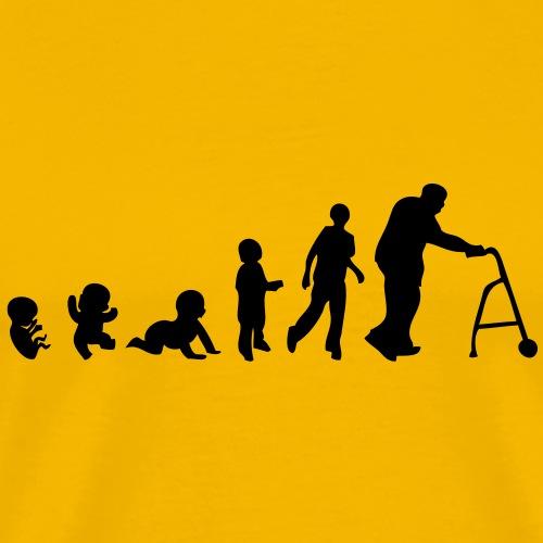 evolution homme men vieillesse