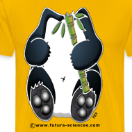 Motif ~ Panda homme jaune