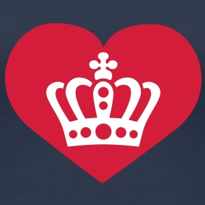 Love King / Queen | Liebe König | Königin T-Shirts - Premium T-skjorte for kvinner