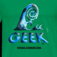 Motif ~ Geekwave homme vert mousse-bleu