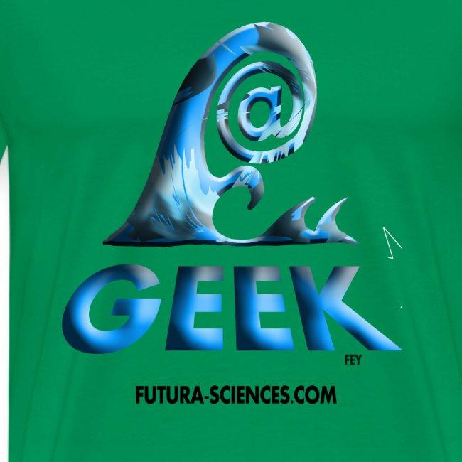 Geekwave homme vert mousse-bleu