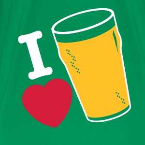 LOVE BEER!!! - Premium T-skjorte for menn