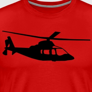 helicopter kids military rc T-shirts - Herre premium T-shirt