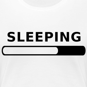 Sleeping in Progress T-Shirts - Women's Premium T-Shirt