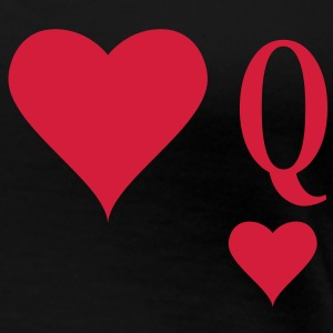 Heart Queen | queen of hearts | Q T-Shirts - Frauen Premium T-Shirt