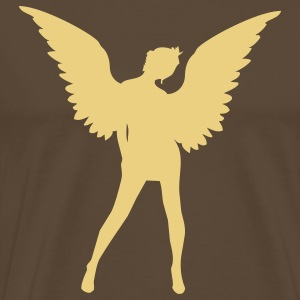 angel sexy woman sex T-shirts - Herre premium T-shirt