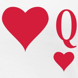 Heart Queen | queen of hearts | Q T-Shirts - Maglietta Premium da donna