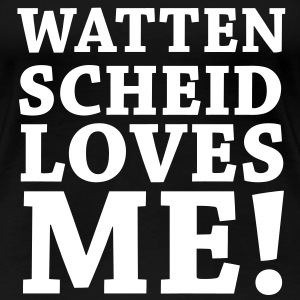 Wattenscheid loves me T-Shirts - Frauen Premium T-Shirt