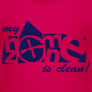 my homezone is clean! - 1color - Teenage Premium T-Shirt