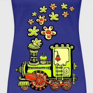Flower Power Lok T-Shirts - Frauen Premium T-Shirt