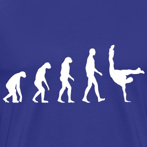 Evolution Breakdance T-shirts - Mannen Premium T-shirt