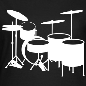 Drums2 - Frauen T-Shirt