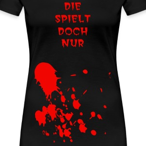 flecken  T-Shirts - Frauen Premium T-Shirt
