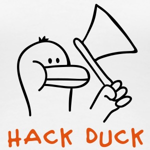 Hack Duck T-Shirts - Frauen Premium T-Shirt