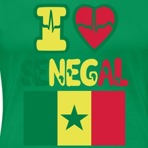 I LOVE SENEGAL - Women's Premium T-Shirt