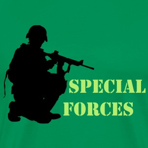 Special Forces - Herre premium T-shirt