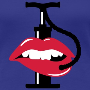 pump up lips | Lippen aufspritzen T-Shirts - T-shirt Premium Femme