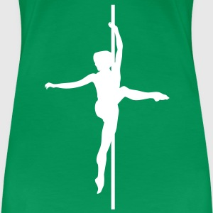 Pole - Dance T-Shirts - Frauen Premium T-Shirt