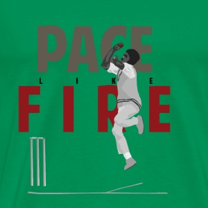 Holding Pace Like Fire T-Shirts - Men's Premium T-Shirt