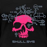Design ~ Skull.sys pink/metallic grey