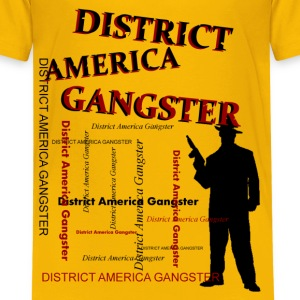 district america gangster Skjorter - Premium T-skjorte for tenåringer