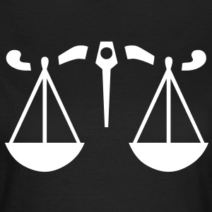 zodiac sign - libra T-shirts - Vrouwen T-shirt