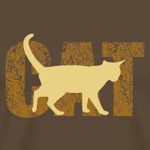 cat T-Shirts - Premium T-skjorte for menn