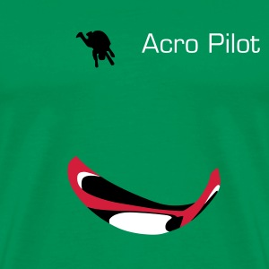 Paraglider Acro Tee shirts - T-shirt Premium Homme