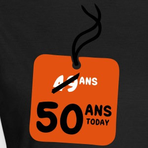 49 past 50 ans today etiquette Tee shirts - T-shirt Femme