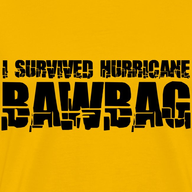 I Survived Hurricane BawBag